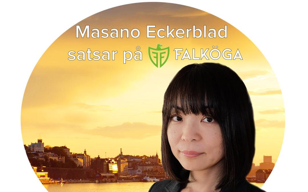 Vi har rekryterat – Masano Eckerblad satsar på Falköga