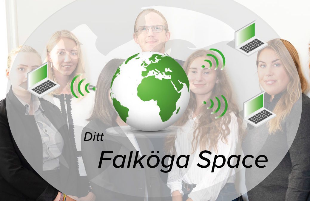 Världspremiär för Falköga Space
