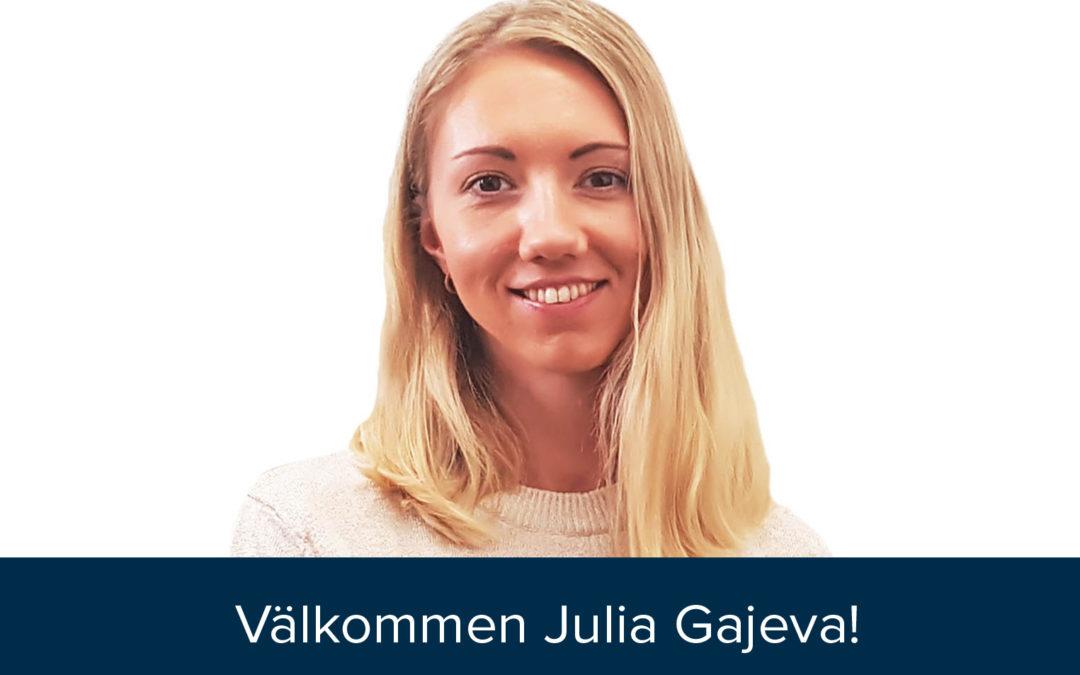 Julia Gajeva satsar på Falköga och Falköga satsar på Julia!