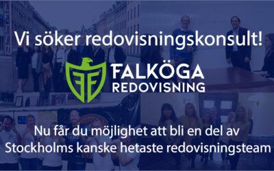 Ta chansen att vara med på en spännande tillväxtresa med en av Sveriges mest nytänkande redovisningsbyråer!